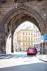 View through Archway at U Prašné brány, Praha 1