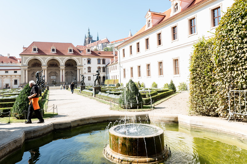 Czech Senate building and grounds