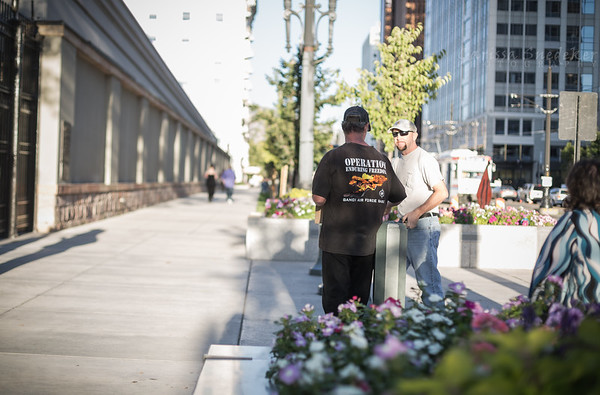 Kindness. Temple Square, Salt Lake City