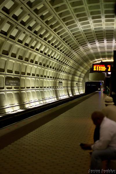 Day 3 - May 17, 2013, Washington, D.C., Metro Station