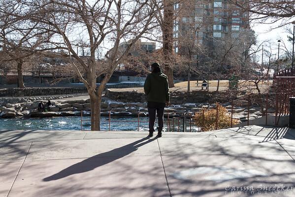 River Walk, Truckee River. Reno, NV