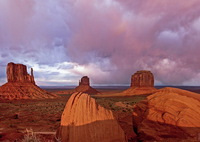 Monument Valley Storm