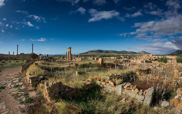 Cemetery of Roman Ruins - Tunisia