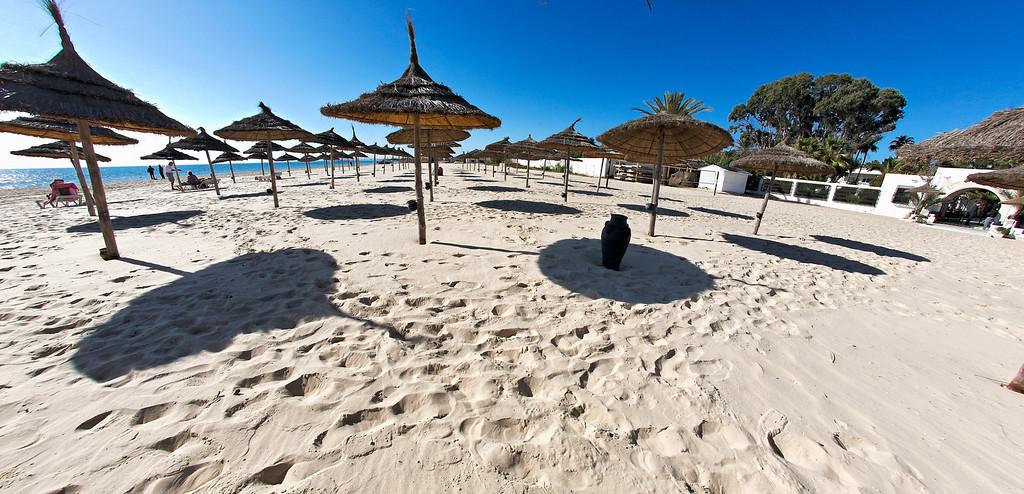 Beach in Hammamet - Tunisia
