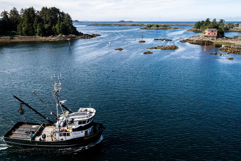 Fishing Boat Sitka Alaska