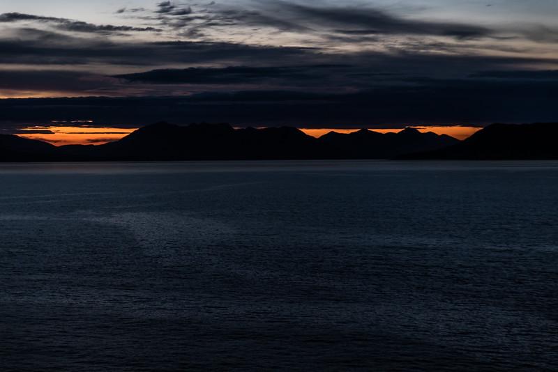 Midnight Light in Alaska