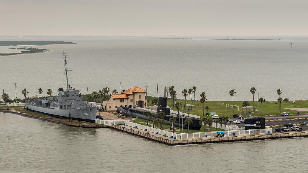 Seawolf Park - USS Stewart DE-238 and USS Cavalla SS-244