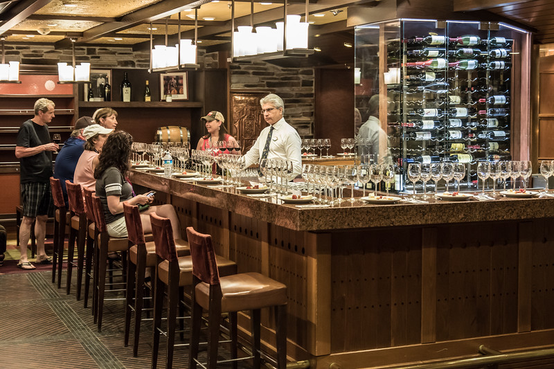 Wine Tasting at Vintages on the prominade