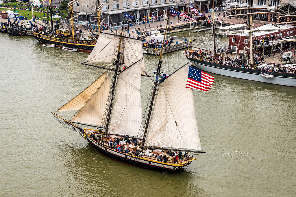 "The ""When and If"" tall ship."