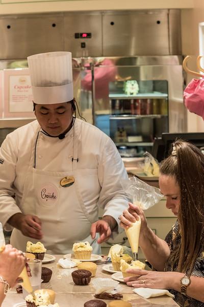 A Cupcake class at the Cupcake Cupboard