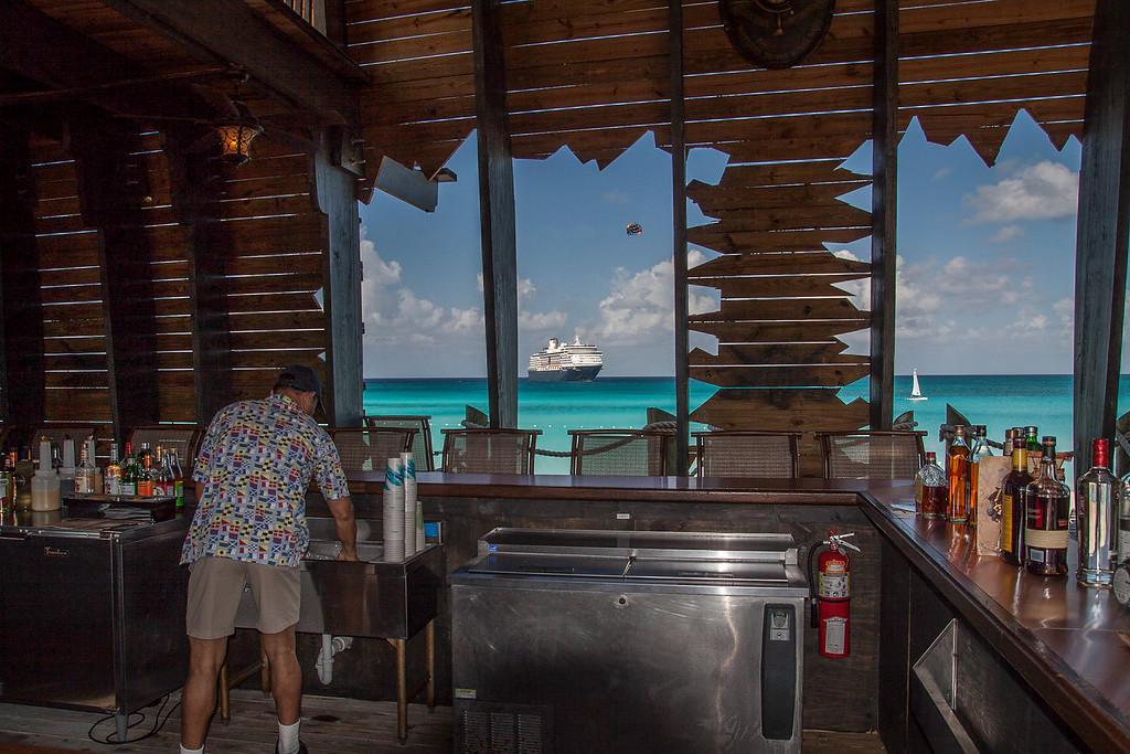 Inside Captian Morgans Bar