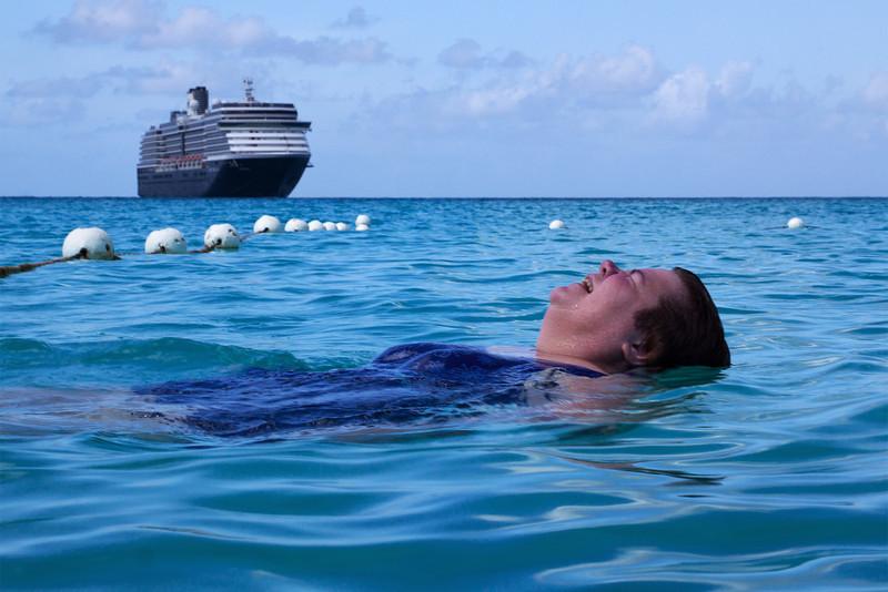 Kathy Swimming