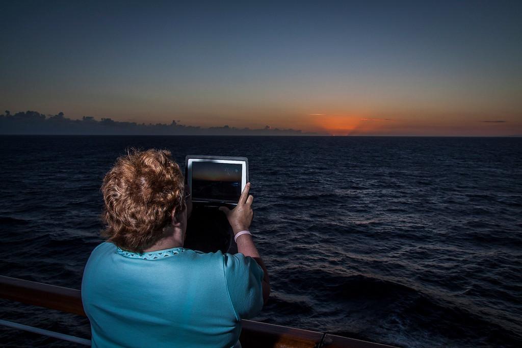 Sunrise - Photo's with an iPAD