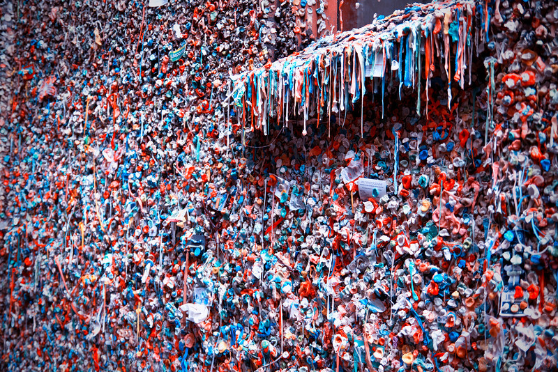 Seattle's Bubble Gum Wall