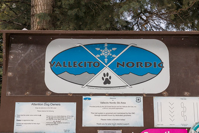 Vallecito Nordic Sign