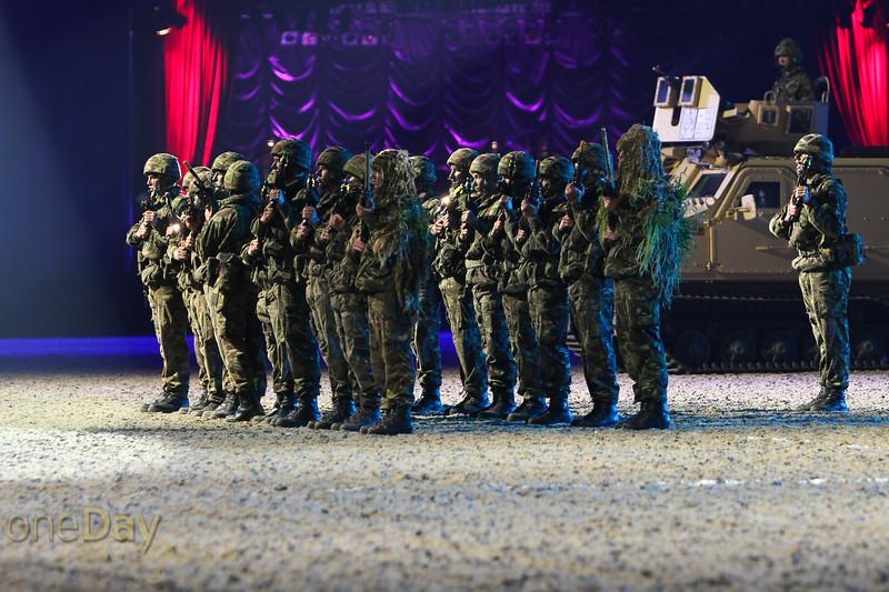 Royal Marine Commando squad
