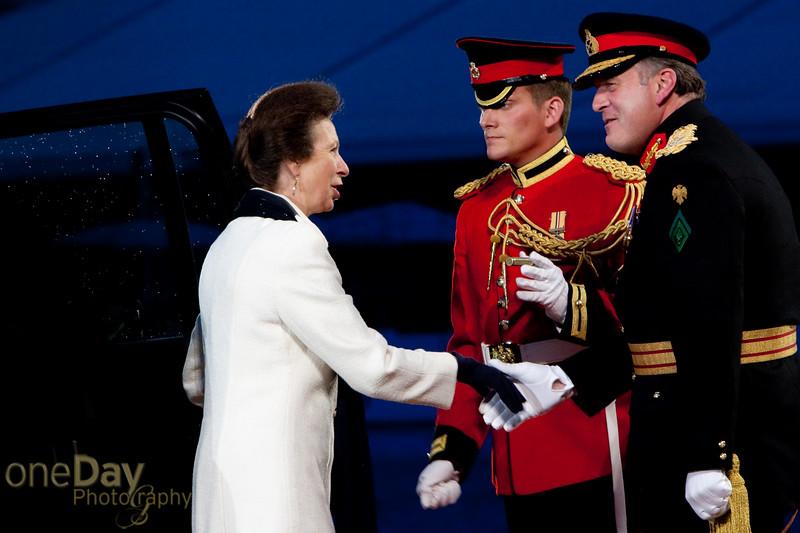 Arrival of Princess Royal