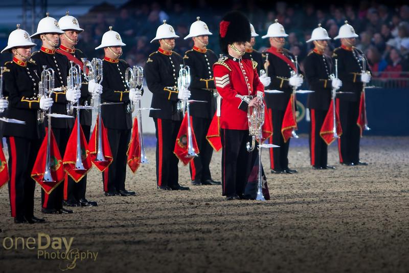 Royal Marine band 2