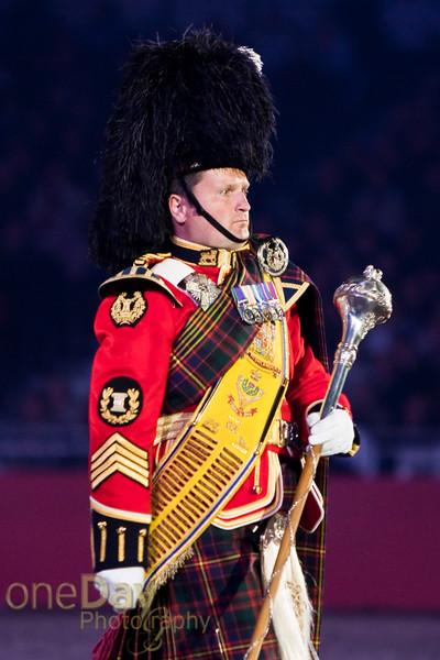 Highlanders Drum Major