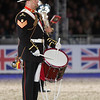 Royal Marine drummer