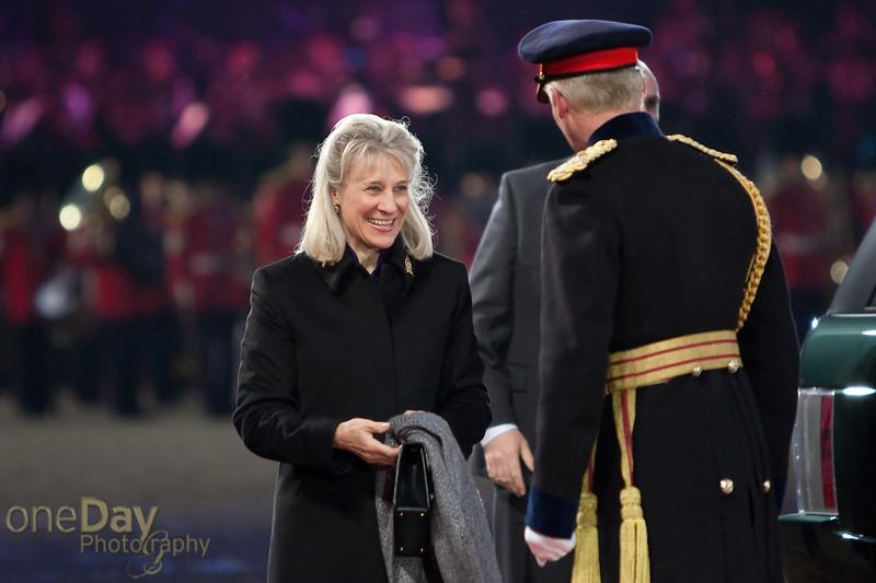 Greeting the Duchess