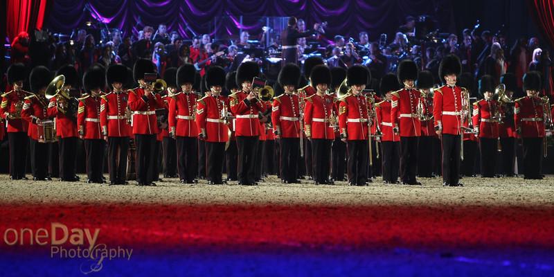 Coldstream Guards prepare