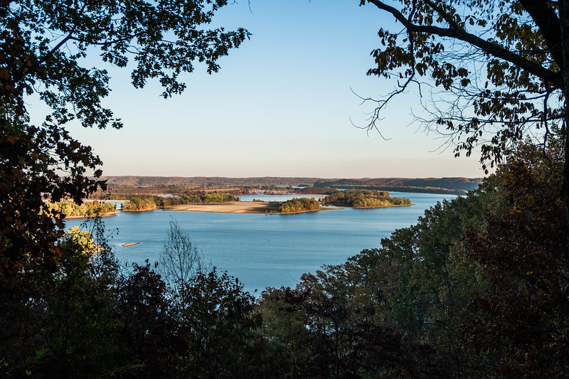 Duck River Bottoms Sanctuary Overlook Tennessee