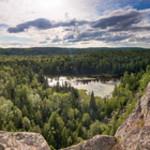 Eagle's Nest Trail Lookout, Ottowa Canada