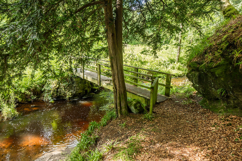 Bridge near the Craigie Bield