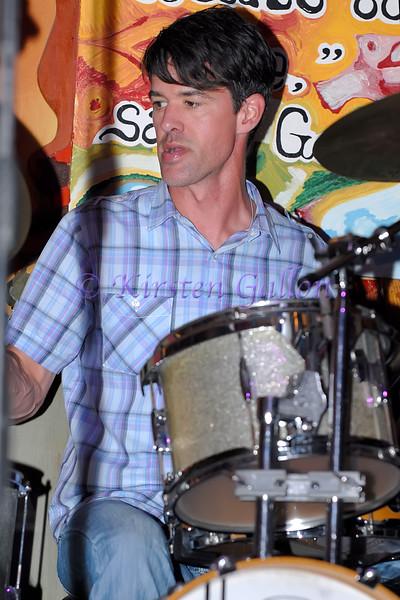 Eric Januszko, drums.