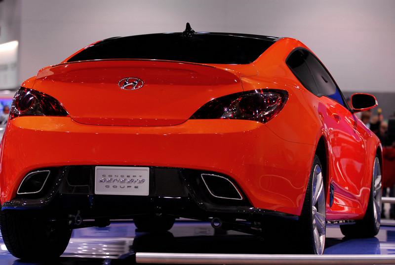The Hyundai Genesis Coupe, a concept car.