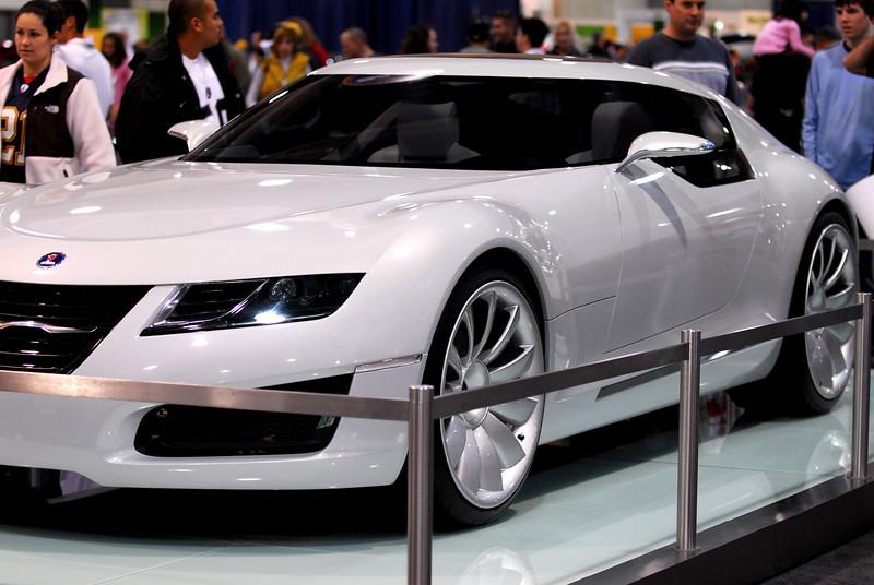 Saab Aero X, a concept car.