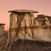 Bisti badlands strange forms