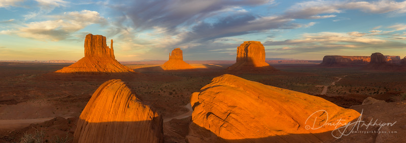 Monument Valley, morning