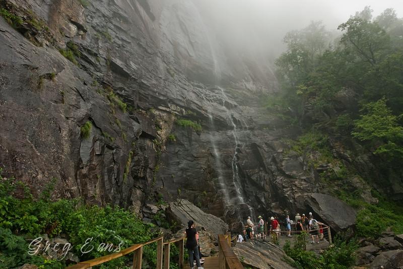 Falls at Chimney Rock.