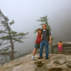 Angie and me on top of Chimney Rock.