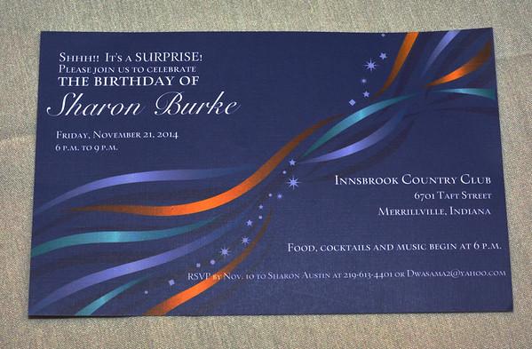 Sharon Burke Surprise Birthday Party