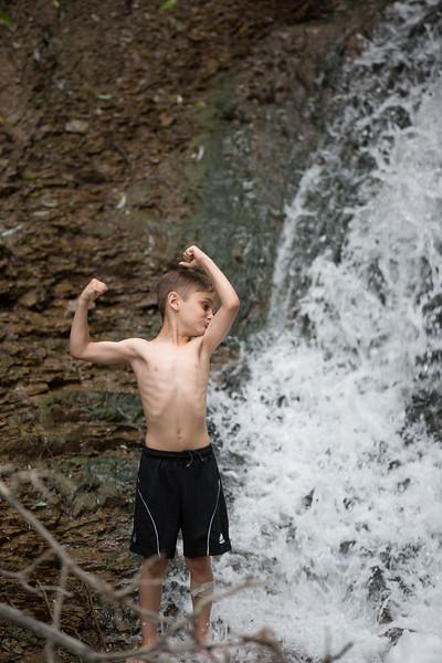 Kids in waterfall (26 of 39)