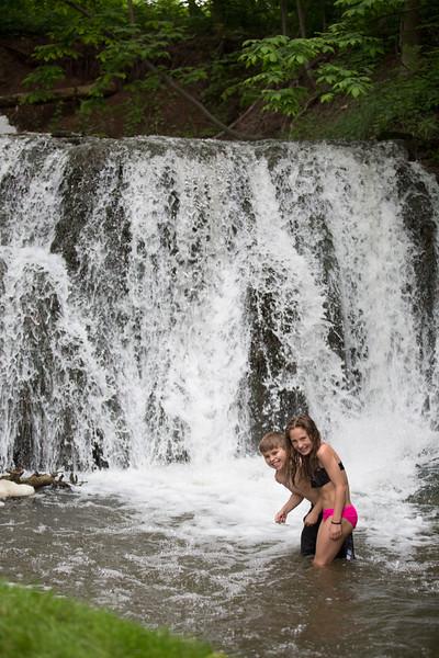 Kids in waterfall (18 of 39)