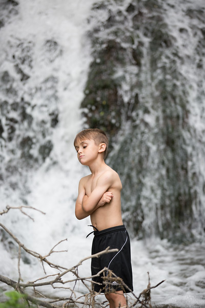 Kids in waterfall (15 of 39)