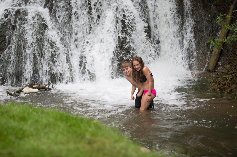 Kids in waterfall (19 of 39)