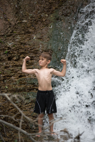 Kids in waterfall (25 of 39)