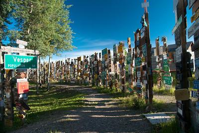 Signpost Forrest, Watson Lake