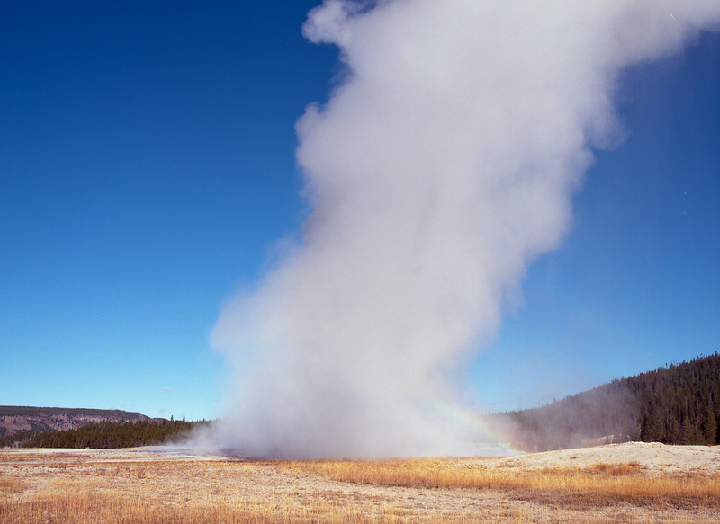 Erupting Old Faithful
