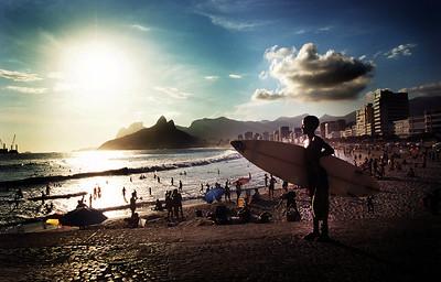 Ipanema beach Rio, Brazil