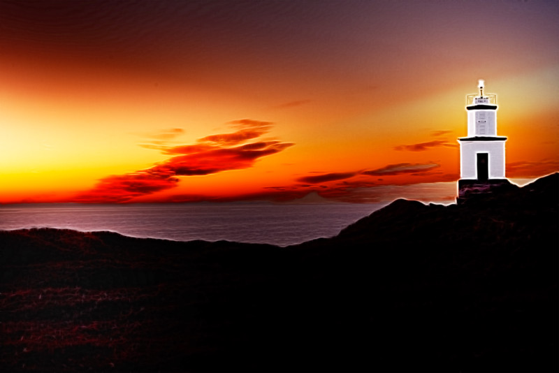 Pacific Northwest Lighthouse Dreamscape