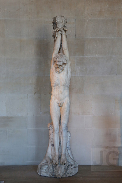 The Torment of Marsyas, The Louvre<br /> Paris, France - 09.01.13<br /> Credit: Jonathan Grassi