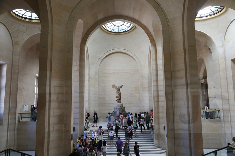 The Winged Victory, The Louvre<br /> Paris, France - 09.01.13<br /> Credit: Jonathan Grassi