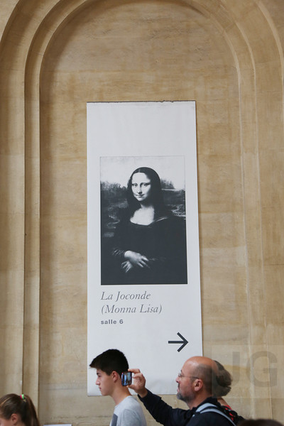 Mona Lisa, The Louvre<br /> Paris, France - 09.01.13<br /> Credit: Jonathan Grassi
