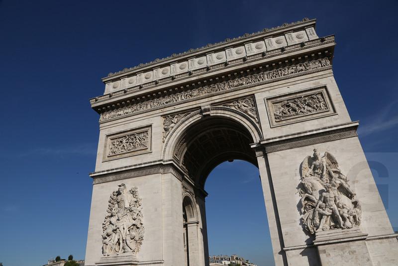 Arc de Triomphe<br /> Paris, France - 09.01.13<br /> Credit: Jonathan Grassi